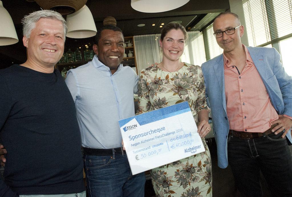 AEGON fietschallenge 2016 - De eindstreep bereikt!