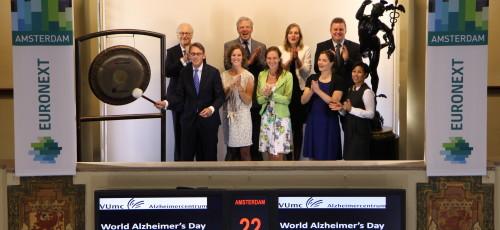 Gong Wereld Alzheimer Dag Groepsfoto