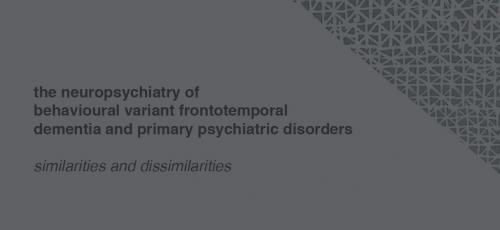 Promotie | Vragenlijsten zinvol bij diagnose gedragsvariant frontotemporale dementie