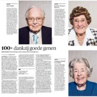 52 Nederlandse 100-plussers breken wereldrecord 1