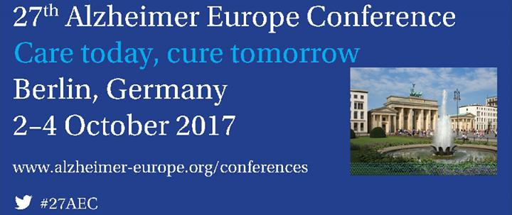 Alzheimer Europe Congres in Berlijn 2
