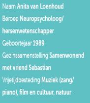 CV Anita van Loenhoud