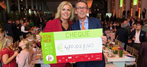 Benefietdiner haalt €470.000,- op voor dementieonderzoek