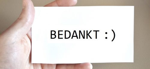 Mooie actie van medewerkers gemeente Amsterdam
