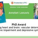 Annebet Leeuwis wint award voor proefschrift