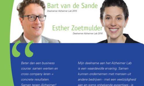 Deelnemers Bart & Esther