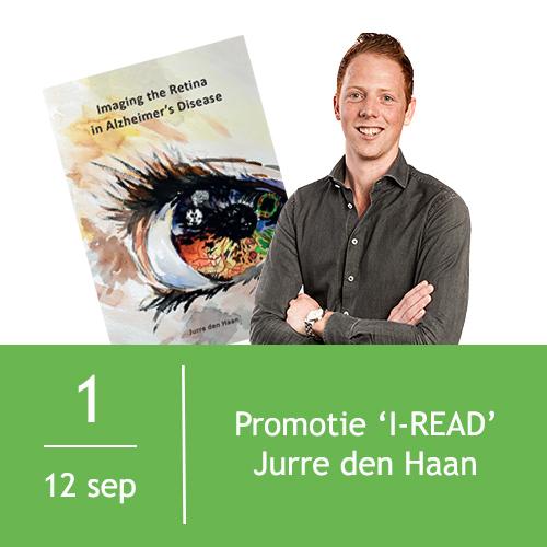 Promotie Jurre den Haan | I-READ