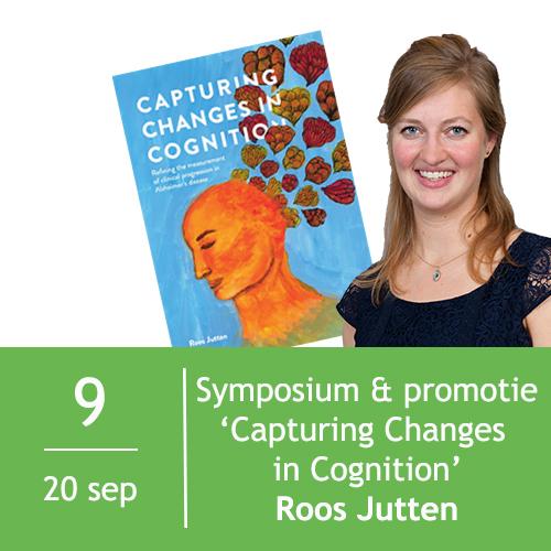 Workshop en Promotie Roos Jutten | Capturing Changes in Cognition 1