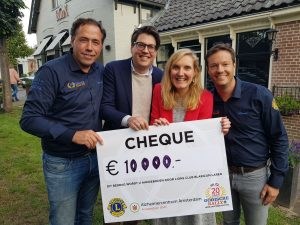 Gooische Rally levert €10.000 op voor onderzoek