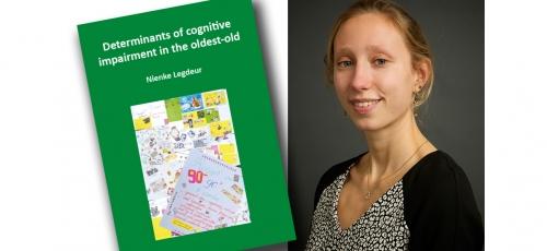 Promotie Nienke Legdeur | Ontwikkelen dementie op oudere leeftijd heeft andere oorzaak 1