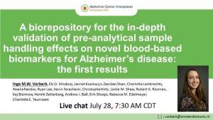 Alzheimer Association International Conference 2020 22