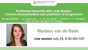 Alzheimer Association International Conference 2020 37