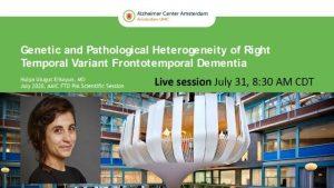 Alzheimer Association International Conference 2020 41