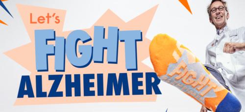 5e editie Alzheimer Sokken 2020: Let's Fight Alzheimer