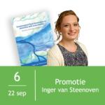 Promotie Inger van Steenoven 1